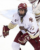 Brian Gibbons (BC - 17) - The Boston College Eagles defeated the University of Massachusetts-Amherst Minutemen 6-5 on Friday, March 12, 2010, in the opening game of their Hockey East Quarterfinal matchup at Conte Forum in Chestnut Hill, Massachusetts.