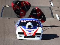 Feb 26, 2016; Chandler, AZ, USA; NHRA top sportsman driver David Armstrong during qualifying for the Carquest Nationals at Wild Horse Pass Motorsports Park. Mandatory Credit: Mark J. Rebilas-
