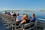 Passeio de barco na Ilha Suomenlinna. Finlândia. 2007. Foto de Vinicius Romanini.