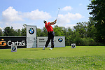 Phillip Price (ENG) tees off on the 6th tee during Day 3 of the BMW Italian Open at Royal Park I Roveri, Turin, Italy, 11th June 2011 (Photo Eoin Clarke/Golffile 2011)