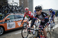 CX sensation Lars Van der Haar (NLD/Giant-Alpecin) in the road peloton<br /> <br /> 103rd Scheldeprijs 2015