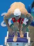 Rio de Janeiro-12/9/2016- Canadian swimmer  Nathan Stein competes in the men's 100m butterfly  at the Olympic Aquatic Centre during the 2016 Paralympic Games in Rio. Photo Scott Grant/Canadian Paralympic Committee