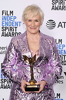 LOS ANGELES - FEB 23:  Glenn Close at the 2019 Film Independent Spirit Awards on the Beach on February 23, 2019 in Santa Monica, CA