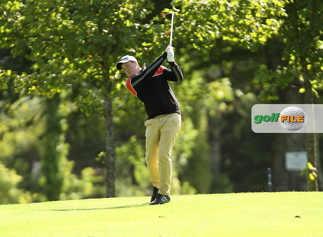 Gary Ward (Kinsale) pictured during the final round of the Munster Boys Open Championship, Mallow Golf Club, Mallow, Co. Cork<br /> Picture: Golffile | Niall O'Shea