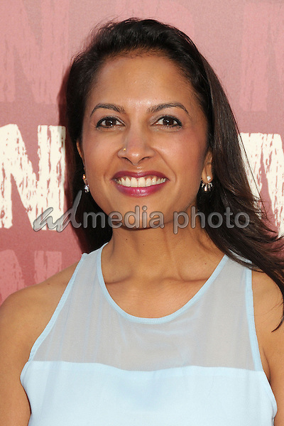 "10 June 2015 - Los Angeles, California - Aarti Tandon. LA Film Festival 2015 Opening Night Premiere of ""Grandma"" held at Regal Cinemas LA Live. Photo Credit: Byron Purvis/AdMedia"
