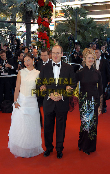 "PRINCE ALBERT OF MONACO.arrivals at opening film.""Fanfan la Tulipe"".Cannes Film Festival 2003.www.capitalpictures.com.sales@capitalpictures.com.©Capital Pictures.royalty"