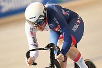 Picture by SWpix.com - 03/03/2018 - Cycling - 2018 UCI Track Cycling World Championships, Day 4 - Omnisport, Apeldoorn, Netherlands - Women's 500m Time Trial - Katy Marchant of Great Britain