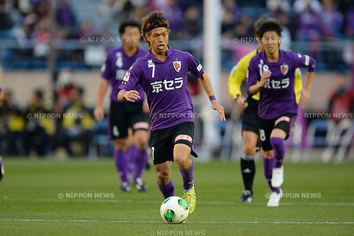 Yoshiaki Komai (Sanga), DECEMBER 8, 2013 - Football / Soccer : 2013 J1 Promotion Play-Offs Final match between Kyoto Sanga F.C. 0-2 Tokushima Vortis. at National Stadium, Tokyo, Japan. (Photo by AFLO)