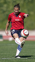 MAR 11, 2006: Quarteira, Portugal:  USWNT defender Amy Lepeilbet