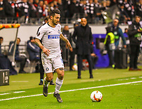 Matteo Politano (Inter Mailand, Internazionale Milano) - 07.03.2019: Eintracht Frankfurt vs. Inter Mailand, UEFA Europa League, Achtelfinale, Commerzbank Arena, DISCLAIMER: DFL regulations prohibit any use of photographs as image sequences and/or quasi-video.