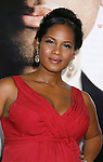 """WESTWOOD, CA. - December 16: Actress Robinne Lee arrives at the Los Angeles premiere of """"Seven Pounds"""" at Mann's Village Theater on December 16, 2008 in Los Angeles, California."""
