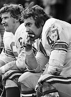 Fred James Calgary Stampeders 1972 Copyright photograph Scott Grant