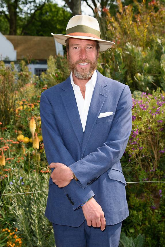 Ben Fogle<br /> at the Chelsea Flower Show 2018, London<br /> <br /> ©Ash Knotek  D3402  21/05/2018