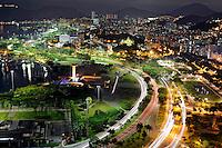 Vista aérea da cidade do Rio de Janeiro. 2008. Foto de Ricardo Azoury.