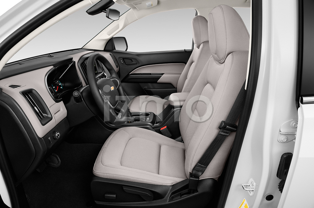 Front seat view of 2019 Chevrolet Colorado WT 4 Door Pick-up Front Seat  car photos