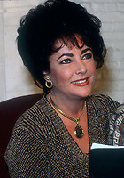 Liz Taylor1419.JPG<br /> Celebrity Archaeology <br /> 1981 FILE PHOTO<br /> Liz Taylor<br /> Photo by Adam Scull-PHOTOlink.net