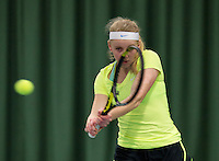 March 13, 2015, Netherlands, Rotterdam, TC Victoria, NOJK, Annabelle Hageman (NED)   Janine Hemmes (NED)<br /> Photo: Tennisimages/Henk Koster