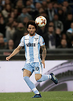 Europa League quarter-final 1st leg <br /> S.S. Lazio - FC Salzburg  Olympic Stadium Rome, April 5, 2018.<br /> Lazio's Felipe Anderson in action during the Europa League match between Lazio and Salzburg at Rome's Olympic stadium, April 5, 2018.<br /> UPDATE IMAGES PRESS/Isabella Bonotto