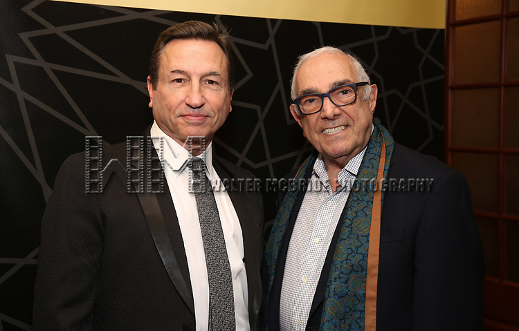 """Peter Pileski and Bob Avian attends the New York City Center Celebrates 75 Years with a Gala Performance of """"A Chorus Line"""" at the City Center on November 14, 2018 in New York City."""