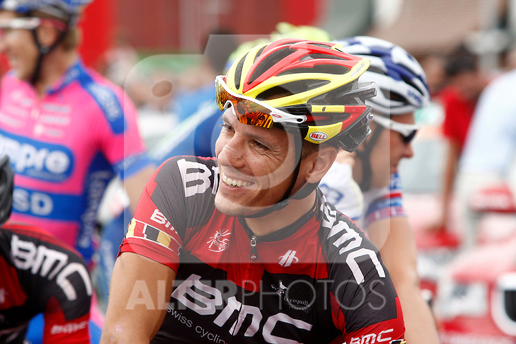 Philippe Gilbert during the stage of La Vuelta 2012 between Barakaldo and Valdezcaray.August 21,2012. (ALTERPHOTOS/Paola Otero)