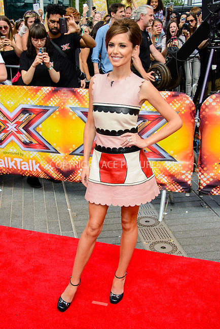 WWW.ACEPIXS.COM<br /> <br /> July 16 2015, London<br /> <br /> Cheryl Fernandez-Versini at the Red Carpet arrivals for The X Factor Auditions  at Wembley Arena on the July 16, 2015 in London<br /> By Line: Famous/ACE Pictures<br /> <br /> <br /> ACE Pictures, Inc.<br /> tel: 646 769 0430<br /> Email: info@acepixs.com<br /> www.acepixs.com