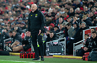 Manchester United assistant manager Mike Phelan shouts instructions to his team from the technical area<br /> <br /> Photographer Alex Dodd/CameraSport<br /> <br /> The Premier League - Liverpool v Manchester United - Sunday 19th January 2020 - Anfield - Liverpool<br /> <br /> World Copyright © 2020 CameraSport. All rights reserved. 43 Linden Ave. Countesthorpe. Leicester. England. LE8 5PG - Tel: +44 (0) 116 277 4147 - admin@camerasport.com - www.camerasport.com