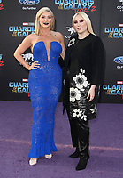 19 April 2017 - Hollywood, California - Hayley Hasselhoff, Taylor Ann Hasselhoff. Premiere Of Disney And Marvel's &quot;Guardians Of The Galaxy Vol. 2&quot; held at the Dolby Theatre. <br /> CAP/ADM<br /> &copy;ADM/Capital Pictures