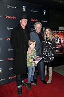 """LOS ANGELES - JAN 22:  Jake Busey, Luke Sampson Busey, Gary Busey, Steffanie Sampson at the """"Dead Ant"""" Los Angeles Premiere at the TCL Chinese 6 Theatres on January 22, 2019 in Los Angeles, CA"""