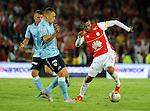 Santa Fe venció 2-1 a Junior en la ida de los 4tos de la liga del torneo Clusura del futbol Colombiano
