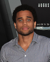 HOLLYWOOD, CA - AUGUST 01: Michael Ealy at the premiere of Columbia Pictures' 'Total Recall' held at Grauman's Chinese Theatre on August 1, 2012 in Hollywood, California Credit: mpi21/MediaPunch Inc. /NortePhoto.com<br />