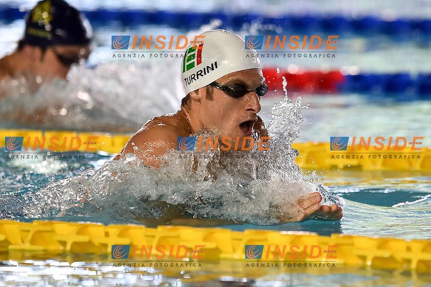Federico Turrini Esercito<br /> 400 misti uomini<br /> Stadio del Nuoto Riccione<br /> Campionati Italiani Nazionali Assoluti Nuoto Primaverili Fin <br /> Riccione Italy 20-04-2016<br /> Photo &copy; Andrea Staccioli/Deepbluemedia/Insidefoto