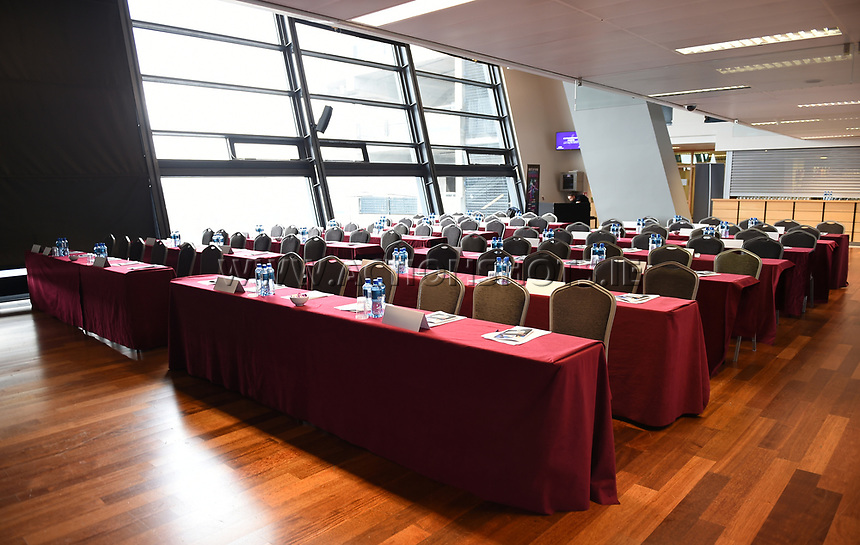 04/02/2018; GAA Handball Annual Congress 2018; Croke Park, Dublin;<br /> General View of seating ahead of Congress.<br /> Photo Credit: actionshots.ie/Tommy Grealy
