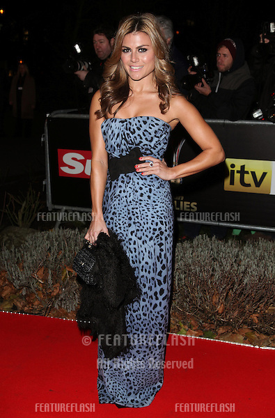 Zoe Hardman arriving for The Sun Military Awards, at The Imperial War Museum, London. 06/12/2012 Picture by: Alexandra Glen / Featureflash