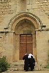 Israel, the Benedictine Crusader Church in Abu Gosh