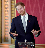 Prince Harry at Rugby League World Cup 2021 Draw