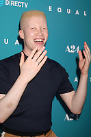 "HOLLYWOOD, CA - JULY 7: Shaun Ross at the ""Equals"" Premiere at the ArcLight Theater in Hollywood, California on July 7, 2016. Credit: David Edwards/MediaPunch"