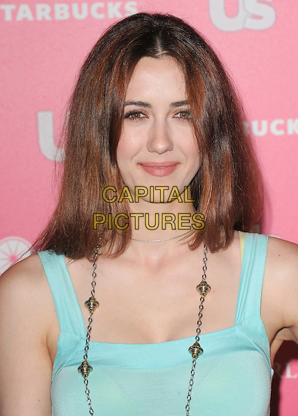 MADELINE ZIMA .at US Weekly Hot Hollywood Style Issue Party held at Eden in Hollywood, California, USA, April 26th 2011.portrait headshot sleeveless  green necklace .CAP/RKE/DVS.©DVS/RockinExposures/Capital Pictures.