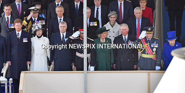 09.03.2017; London, England: QUEEN ELIZABETH AND MEMBERS OF THE ROYAL FAMILY<br />