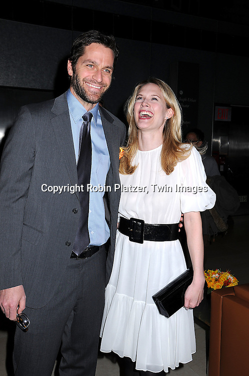 Peter Hermann and Stephanie March.at a cocktail party hosted by REDBOOK magazine .for Safe Horizon celebrating the Champions for Children.program on March 18, 2008 at The Hearst Tower. .Robin Platzer, Twin Images