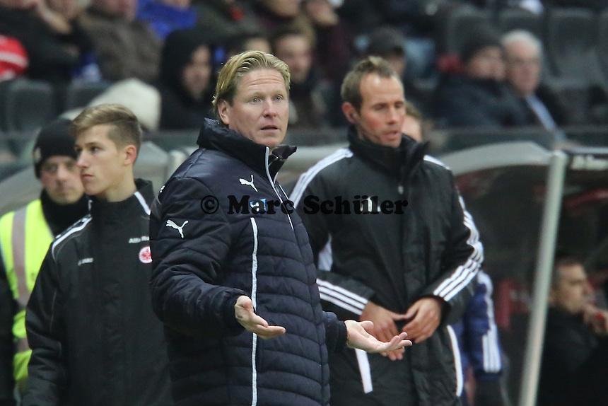Trainer Markus Gisdol (Hoffenheim) - Eintracht Frankfurt vs. TSG 1899 Hoffenheim, Commerzbank Arena