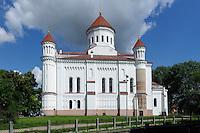 Orthodoxe Kirche der heiligen Mutter Gottes in Vilnius, Litauen, Europa, Unesco-Weltkulturerbe