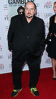 HOLLYWOOD, LOS ANGELES, CA, USA - NOVEMBER 10: James Toback arrives at the AFI FEST 2014 - 'The Gambler' Gala Screening held at the Dolby Theatre on November 10, 2014 in Hollywood, Los Angeles, California, United States. (Photo by Xavier Collin/Celebrity Monitor)