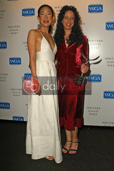 Sandra Oh and Debora Cahn