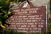Historic sign at Audubon Zoo
