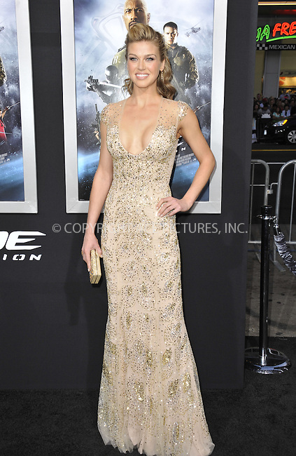 WWW.ACEPIXS.COM....March 28 2013, LA....Adrianne Palicki arriving at the 'G.I. Joe: Retaliation' Los Angeles premiere at the TCL Chinese Theatre on March 28, 2013 in Hollywood, California.......By Line: Peter West/ACE Pictures......ACE Pictures, Inc...tel: 646 769 0430..Email: info@acepixs.com..www.acepixs.com