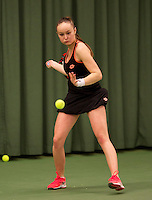 March 13, 2015, Netherlands, Rotterdam, TC Victoria, NOJK, Romy Kerkhove (NED)<br /> Photo: Tennisimages/Henk Koster