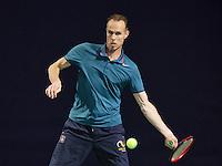 Hilversum, The Netherlands, March 10, 2016,  Tulip Tennis Center, NOVK, Frank van de Heuvel (NED)<br /> Photo: Tennisimages/Henk Koster