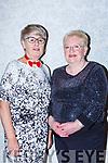 Julie Quinn and Mary O'Shea enjoying the Killarney B+B Christmas party in Dromhall Hotel on Friday night