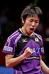Athelete in action during the ITTF World Team Table Tennis Championship 2014 at the Yoyogi National Gymnasium on May 05, 2014 in Tokyo, Japan. Photo by Alan Siu / Power Sport Images