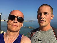 John & Thomas on a Run